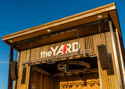 the YARD stage
